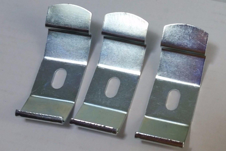 Vertical Blind Ceiling Mount Bracket Clip 3 Pack