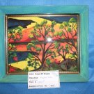 Ruffled Birds Original Water Color by RWV