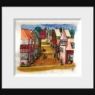 The Village an Original Water Color by RWV