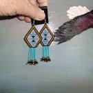 Native American Beaded Earrings    Item E805