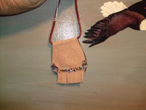 Medicine Bag Healing-Strength Item MB215