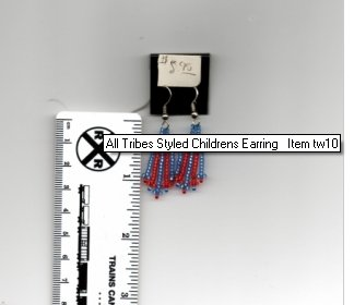 All Tribes Styled Childrens Earring Item tw10
