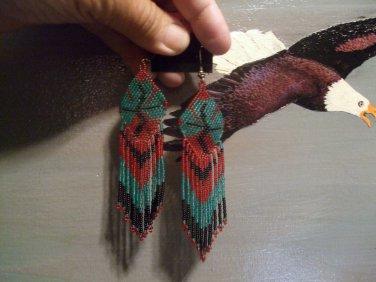 Seed Bead Earrings Item W220