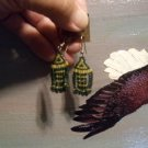 Small Arrow Drop Beaded Earrings T105