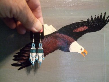 Pow Wow Regalia Earrings Item T220