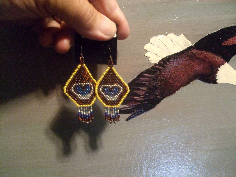 Pow Wow Regalia Earrings Item T140