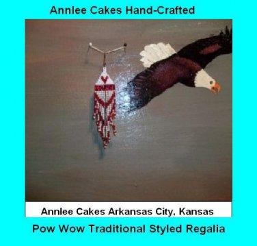 Pow Wow Dance Earrings Item TW677