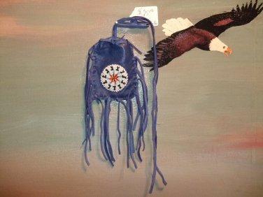 Medicine Bag Blue Item MB315