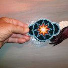 Iroquois Blue Star Barrette