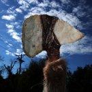 Old Tomahawk with Bone Flint Head