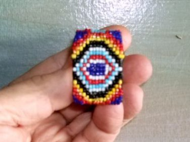 Tiny Tot or Teen Beaded Cuffs #TW2025