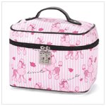 POODLE TRAIN CASE-AVAILABLE NOW-#37252