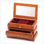 LADY'S JEWELRY BOX-AVAILABLE NOW-#36674