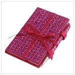 SEQUIN NOTEBOOK WITH PEN-AVAILABLE NOW-#35217
