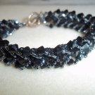 Black Woven Bracelet
