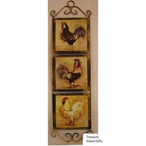 Rooster Tile Rack