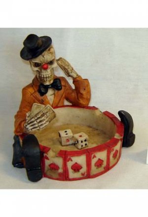 SKULL MAN ASHTRAY