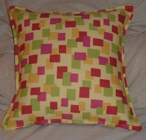 COLORFUL CONTEMPORARY CRAZY PATTERN PILLOW