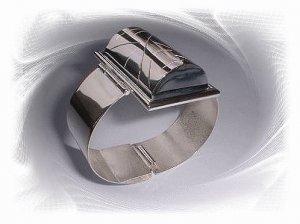 Artisian Handcrafted Designer Sterling Silver Designer Cuff Bracelet Bangle