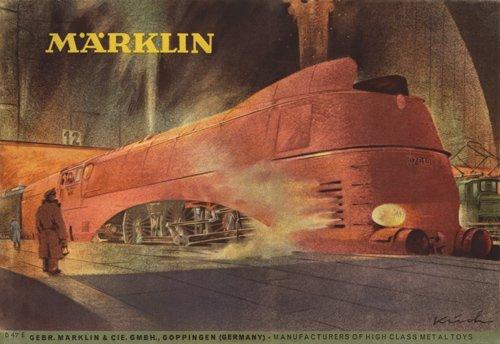 Märklin 1947E, 1949D, 1952E & 1956E  Digital Catalogs
