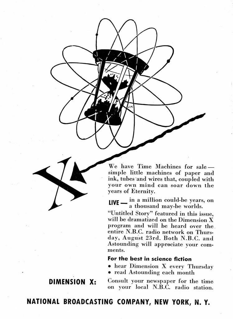 DIMENSION X (1950-1951) Old Time Radio - CD-ROM-50 mp3