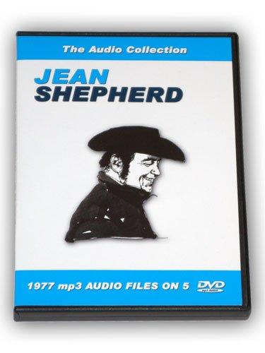 JEAN SHEPHERD 5 DVD mp3 AUDIO COLLECTION