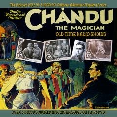 CHANDU THE MAGICIAN  Old Time Radio - CD-ROM - 178 mp3