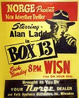 BOX 13 (1948-1949) Old Time Radio - CD-ROM - 52 mp3