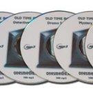 FANTASTIC OLD TIME RADIO SAMPLER - 6 CD-ROM - 600 mp3