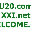 XXI.net - WELCOME.org - U20.com DOMAIN NAMES FOR SALE