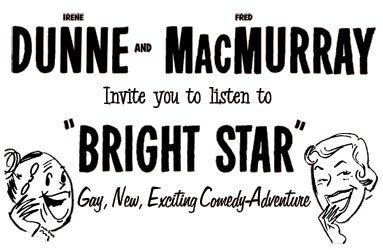 BRIGHT STAR (1952-53) Old Time Radio - CD-ROM - 34 mp3