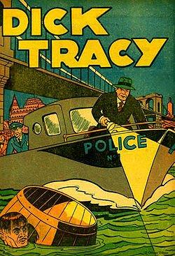 DICK TRACY (1935-48)  Old Time Radio - CD-ROM - 72 mp3-Bob Burlen Barry Thompson