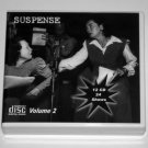 THE SUSPENSE COLLECTION - Volume 2 - OLD TIME RADIO - 12 AUDIO CD - 24 SHOWS