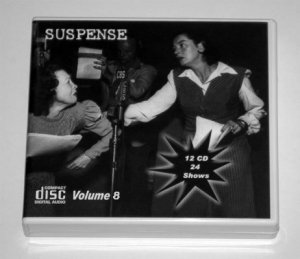 THE SUSPENSE COLLECTION - Volume 8 - OLD TIME RADIO - 12 AUDIO CD - 24 SHOWS