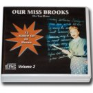 OUR MISS BROOKS with Eve Arden  - Volume 2 OLD TIME RADIO-12 AUDIO CD - 24 SHOWS
