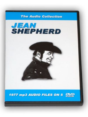 JEAN SHEPHERD RADIO SHOWS COLLECTION - 5 DVD ROM