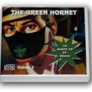 THE GREEN HORNET Volume 2 -  OLD TIME RADIO - 12 AUDIO CD - 24 Shows