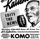H.V. KALTENBORN OLD TIME RADIO - 1 mp3 CD - 34 Shows - Total Playtime: 7:04:02