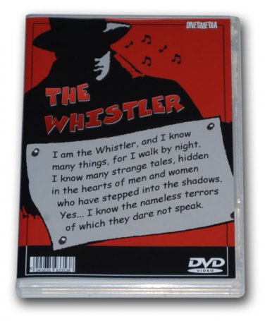 THE WHISTLER - THE FILMS COLLECTION - 4 DVD-R - 8 MOVIES + A BONUS MP3 DVD ROM