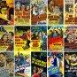 THE LONE WOLF FILM COLLECTION - 8 DVD-R - 15 MOVIES + BONUS FILM