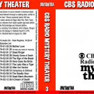 CBS RADIO MYSTERY THEATER Collection 3 - BOX SETS 5 and 6 - 24 Audio CD