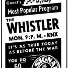 THE WHISTLER (1942-1955)  OLD TIME RADIO - 5 CD - 517 mp3