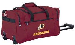 Wheeled NFL Duffle Cooler - Washington Redskins