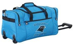 Wheeled NFL Duffle Cooler - Carolina Panthers