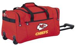 Wheeled NFL Duffle Cooler - Kansas City Chiefs