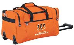 Wheeled NFL Duffle Cooler - Cincinnati Bengals