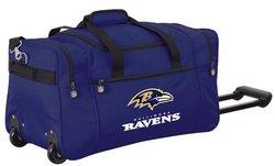 Wheeled NFL Duffle Cooler - Baltimore Ravens