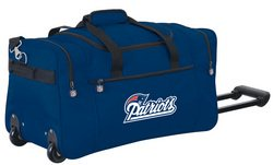 Wheeled NFL Duffle Cooler - New England Patriots