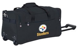 Wheeled NFL Duffle Cooler - Pittsburgh Steelers