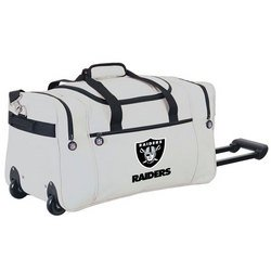 Wheeled NFL Duffle Cooler - Oakland Raiders